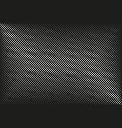 dark abstract background black and white striped vector image