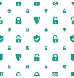 firewall icons pattern seamless white background vector image