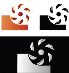Metalworking symbol 2 vector image