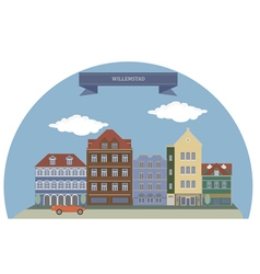 Willemstad vector image