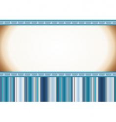 Christmas light blue card vector image