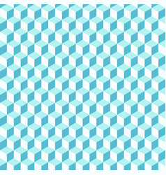abstract background of color cubes seamless vector image vector image