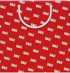 paper bag vector image vector image