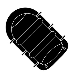 pictogram rafting water sport adventure camping vector image