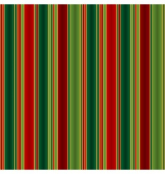 Christmas striped pattern vector image vector image