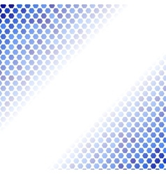 Abstract Blue Mosaic Pattern vector