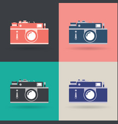 Creative design object icon set vector