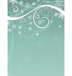 decorative christmas background 0511 vector image