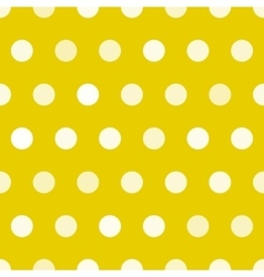 Dotted texture gold and white circles vector image
