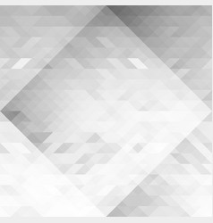 grayscale triangles geometric seamless background vector image