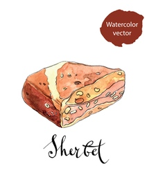 Sherbet vector image