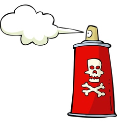 Toxic spray vector