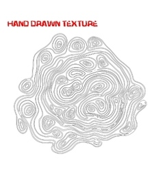 Ink hand drawn texture psychedelic monochrome vector