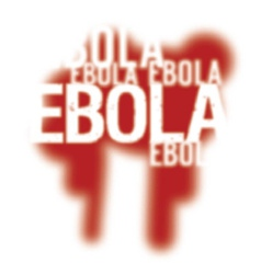 Ebola Virus Abstract Background vector image vector image