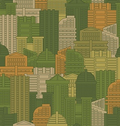 Military texture of buildings Soldier Urban green vector image vector image