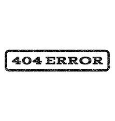 404 error watermark stamp vector image