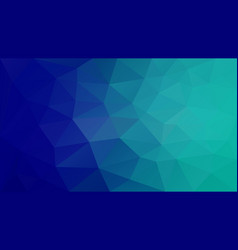 Abstract irregular polygonal background cyan blue vector