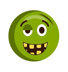 happy injured emoji vector image