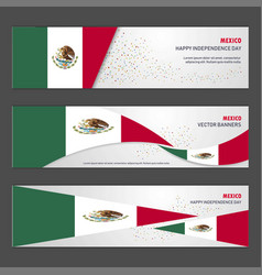 mexico independence day abstract background vector image