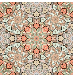 Decorative seamless print for textile or vector image vector image