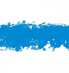 ink splat banner vector image vector image