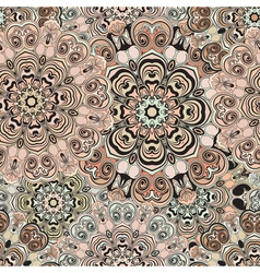 Decorative seamless print for textile or vector image
