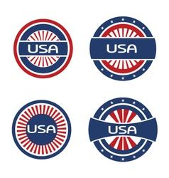 Seals USA vector image
