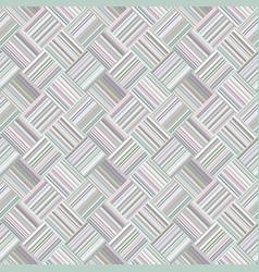 abstract diagonal stripe square tile mosaic vector image