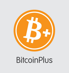 Bitcoinplus - cryptographic currency element vector