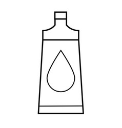 body oil icon vector image