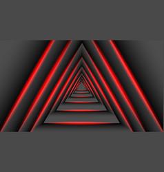 concept triangular shadow technology vector image
