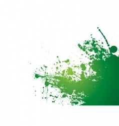 grunge splat background vector image