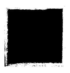 Grunge square banner vector