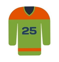 Hockey uniform vector image