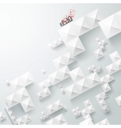 Modern background with squares vector image