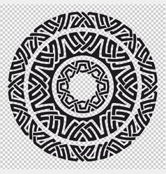 Pagan mandala symbol vector