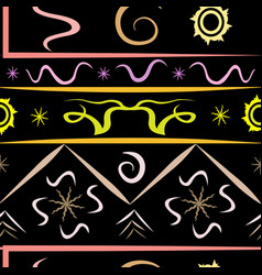 Pattern diversity of the universe black vector
