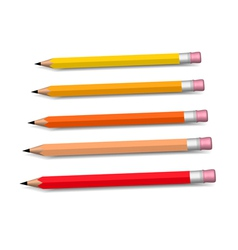Pensils vector image