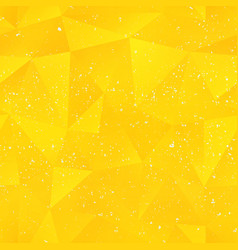 sunny triangle pattern vector image