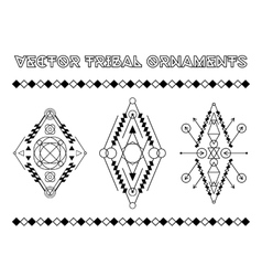 Tribal Emblems vector image