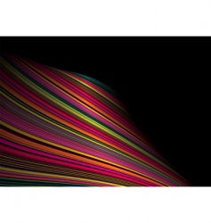 twisted rainbow wave vector image