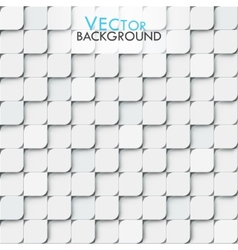 White modern geometric background with little vector