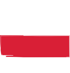 grunge poland flag or banner vector image