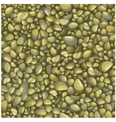 Seamless background with stones vector image