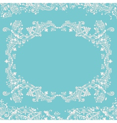 frame fancy vector image vector image