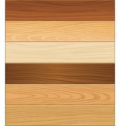 Wooden texture seamless background vector image vector image