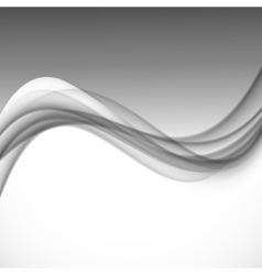 Abstract dynamic smooth design background vector image