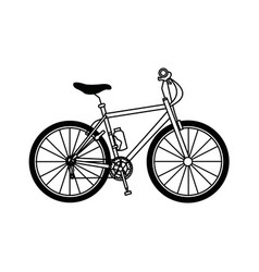 Bicycle sport transport recreation activity vector