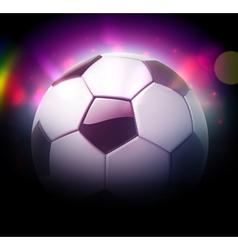 football or soccer ball vector image