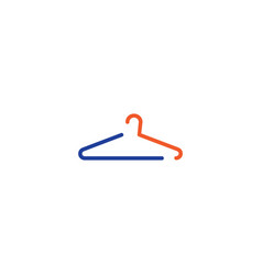 Hanger icon flat design vector